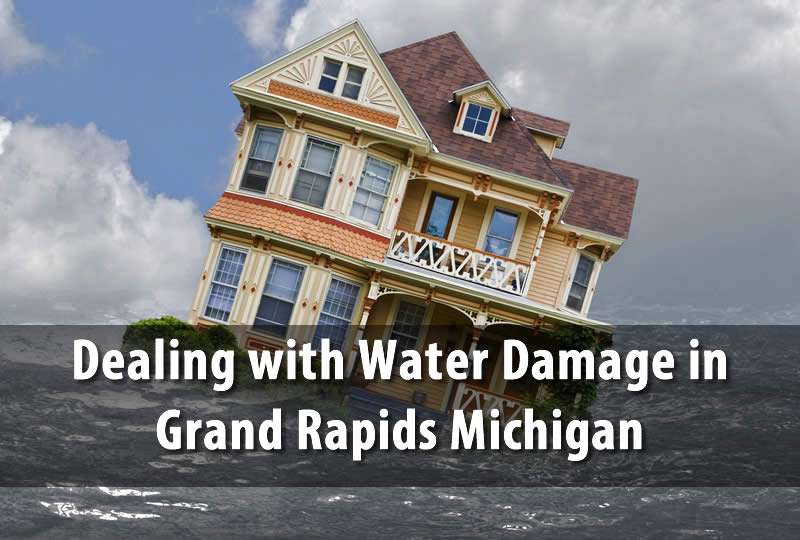 dealing with water damage in grand rapids michigan. Black Bedroom Furniture Sets. Home Design Ideas