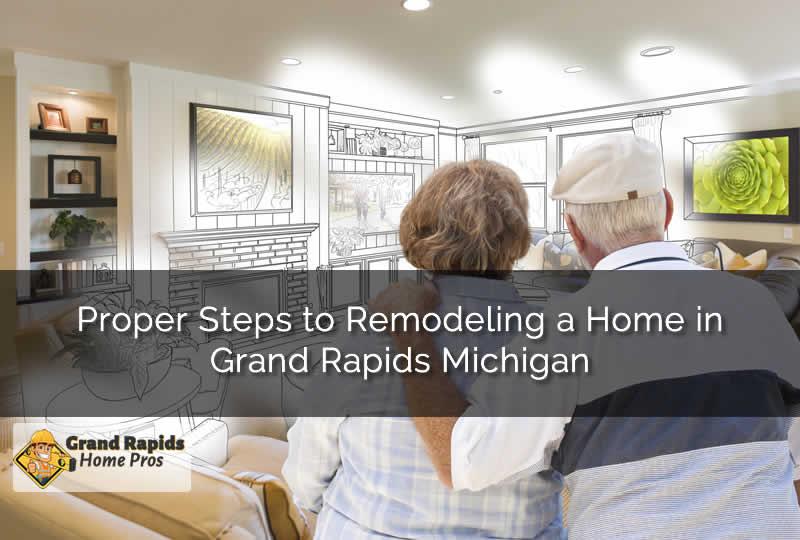 Home Remodel in Grand Rapids MI