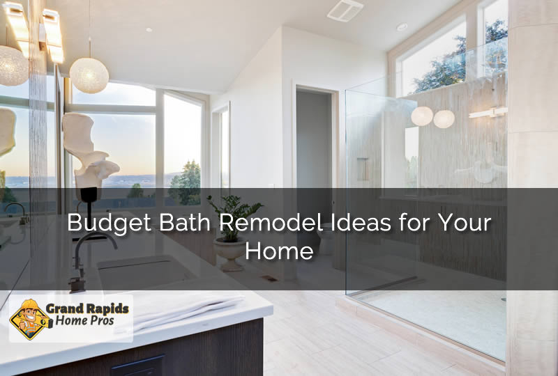 Bathroom Remodeling Grand Rapids Mi budget bath remodel ideas for your home in grand rapids michigan