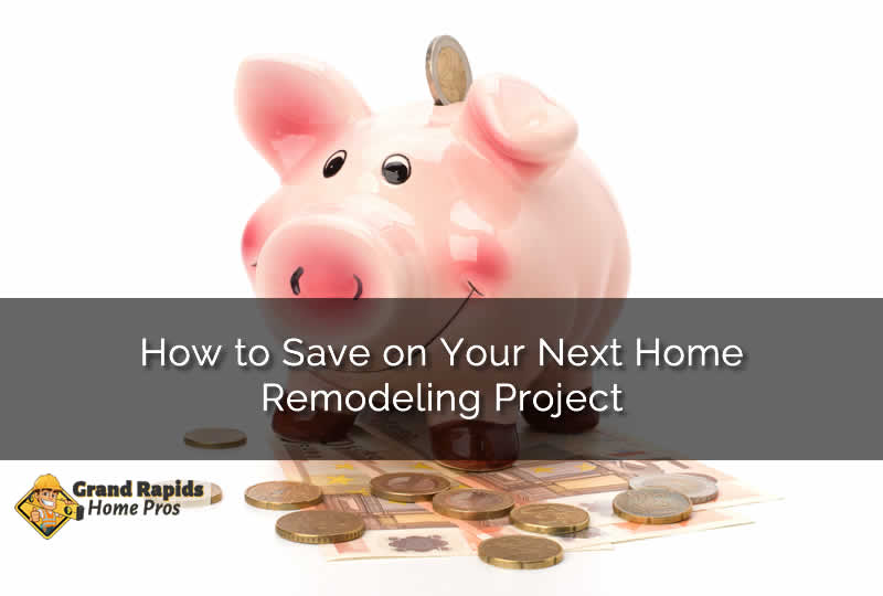 home remodel project savings
