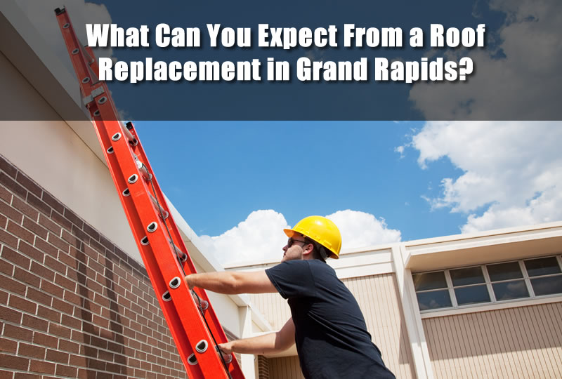 What Can You Expect From a Roof Replacement in Grand Rapids?